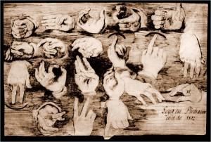Goya, grabado (1812). Archivo del autor.