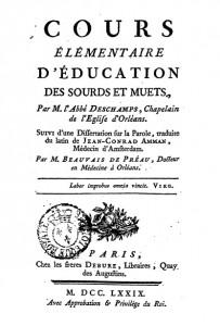 Portada del libro de Deschamps en Gallica