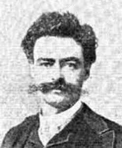 George H. Quackenbos, 1899. Cortesía Gallaudet Archives.
