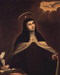 """Santa Teresa, por Alonso del Arco, """"El Sordillo de Pereda"""" (Fuente: «SantaTeresa». Disponible bajo la licencia Dominio público vía Wikimedia Commons.)"""