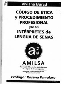 IMAGEN 1Burad_V_Amilsa_Codigo_Etica_Procedimiento_Profesional_Interpretes_LS_2001