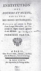 Portada libro Epée 1776
