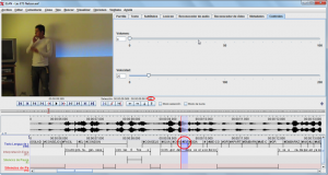 Imagen 2: Interface del ELAN