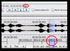 Leyenda Imagen 3: La seña evitar[4]se ejecuta en 192 milésimas de segundo, más rápido de lo que dura un parpadeo en promedio (200 ms)