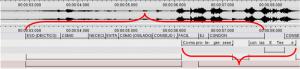 Imagen 6: Reducción en la interpretación LSC – castellano.