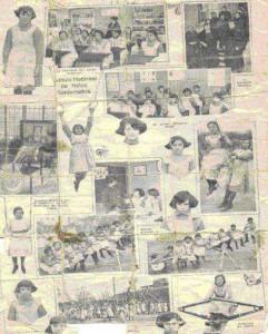 Instituto Nacional de Niñas Sordomudas (fotografía del año 1925 aproximadamente)
